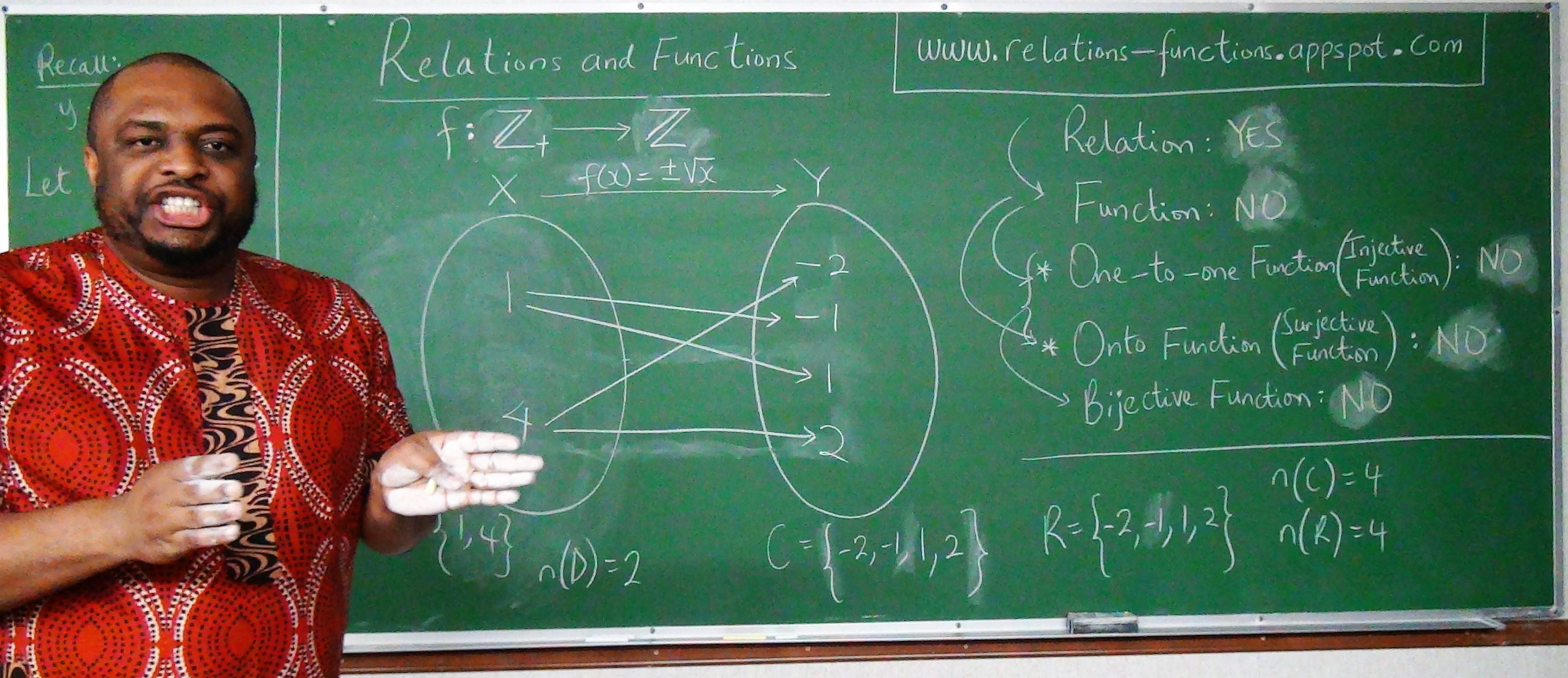 Relations and Functions 2