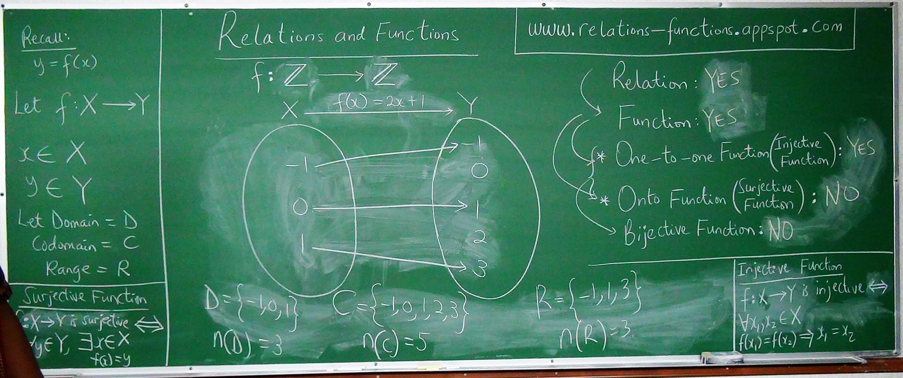 Relations and Functions 7